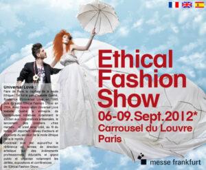 Ethical fashion paris show